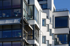 Mooie moderne flats in Zweden Royalty-vrije Stock Fotografie