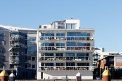 Mooie moderne flats in Zweden Stock Afbeeldingen