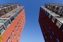 Mooie moderne flats in Zweden Stock Foto