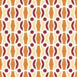 Mooie moderne geometrische naadloze patroonachtergrond Royalty-vrije Stock Afbeelding