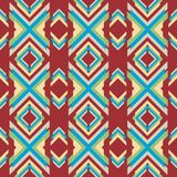 Mooie moderne geometrische naadloze patroonachtergrond Stock Afbeelding