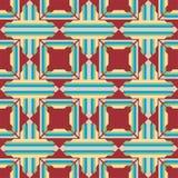 Mooie moderne geometrische naadloze patroonachtergrond Stock Foto's
