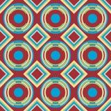 Mooie moderne geometrische naadloze patroonachtergrond Stock Foto