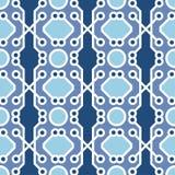 Mooie moderne geometrische naadloze patroonachtergrond Stock Fotografie