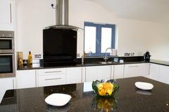 Mooie moderne keuken Royalty-vrije Stock Afbeelding