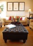 Mooie moderne woonkamer Stock Afbeeldingen
