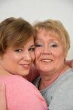 Mooie moeder en dochter stock afbeelding