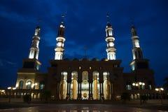 Mooie moskee in Borneo Indonesië Royalty-vrije Stock Foto