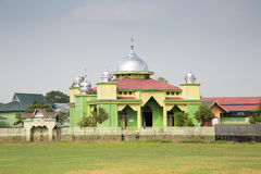 Mooie moskee in Borneo Indonesië Royalty-vrije Stock Afbeelding