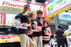 mooie motor Expo 2014 Royalty-vrije Stock Foto