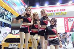 mooie motor Expo 2014 Stock Fotografie