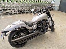 Mooie motorfiets royalty-vrije stock fotografie
