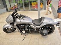 Mooie motorfiets royalty-vrije stock afbeelding