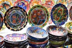 Mooie multicolored handige ambachten royalty-vrije stock afbeelding