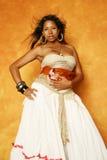 Mooie multiraciale vrouw Stock Foto
