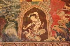 Mooie Muurschilderingschilderijen Stock Foto