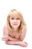 Mooie naakte blond Royalty-vrije Stock Afbeelding