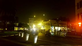 Mooie nacht in de stad Royalty-vrije Stock Foto