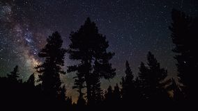 Mooie Nachtsterren en Melkweg in de Hemel royalty-vrije stock foto's