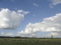 Mooie Nederlandse wolken stock afbeeldingen