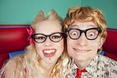 Mooie nerds Stock Foto