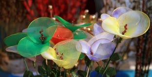 Mooie netto bloemen royalty-vrije stock afbeeldingen