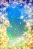 Mooie Nieuwe jaarachtergrond stock illustratie