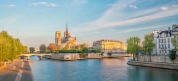 Mooie Notre Dame de Paris stock fotografie