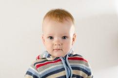 Mooie onschuldige pasgeboren Stock Foto's