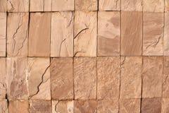 Mooie oude muur met barsten en textuur Royalty-vrije Stock Afbeelding