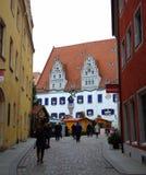 Mooie oude stad Duitsland Stock Afbeelding
