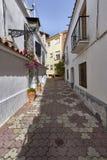 Mooie oude stad Marbella in Spanje Stock Foto's