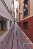 Mooie oude stad Marbella in Spanje Royalty-vrije Stock Foto's