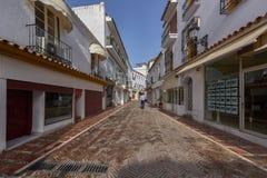 Mooie oude stad Marbella in Spanje Stock Afbeeldingen