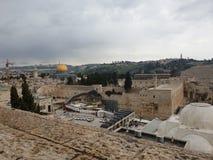mooie oude stad van Jeruzalem royalty-vrije stock afbeeldingen