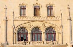 Mooie oude vensters Stock Foto's