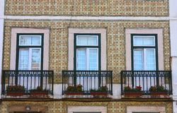 Mooie oude vensters Royalty-vrije Stock Afbeelding