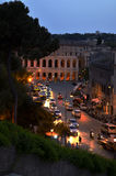 Mooie oude vensters in Rome (Italië) Royalty-vrije Stock Foto