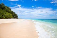 Mooie overzees en kustlijnen van Gili Meno royalty-vrije stock afbeelding