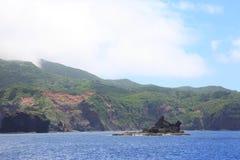 Mooie overzees van Chichijima-Eiland Stock Afbeelding