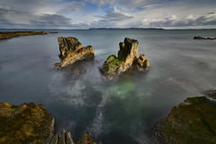 Mooie overzeese mening, schoon water & blauwe hemel Stock Foto