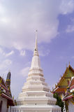 Mooie pagode en ubosot Stock Foto