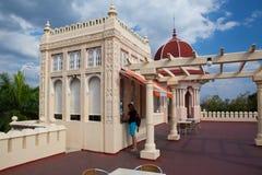 Mooie Palacio DE Valle in Cienfuegos dichtbij Jagua-Hotel, Cuba Stock Afbeeldingen