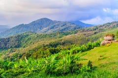 Mooie panoramische bergmening van de heuvel Grote Boedha in Ph Royalty-vrije Stock Foto