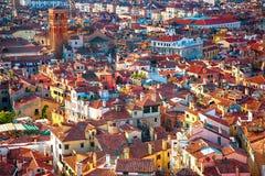 Mooie panoramische Luchtmening van Venetië Stock Fotografie