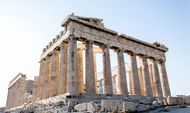 Mooie Parthenon in Griekenland Stock Foto's