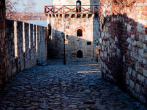 Mooie passage in Belgrado Kalemegdan Stock Afbeelding
