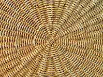 Mooie Patroon en Textuur van Natuurlijk Lichtbruin Rotanmeubilair Royalty-vrije Stock Afbeeldingen