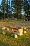 Mooie picknickplaats stock fotografie