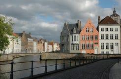 Mooie plaats in Brugge Royalty-vrije Stock Fotografie